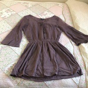 Purple lacey dress